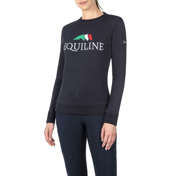 Equiline Damen Pullover Team, Navy