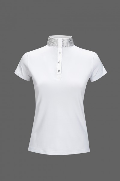 Equiline Turniershirt Gerlinde, white