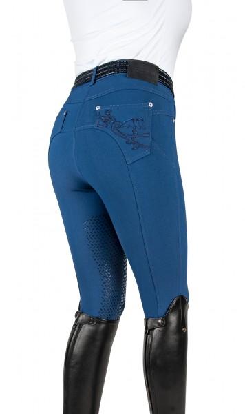 Equiline Half-Grip Reithose Patty, Royal Blue
