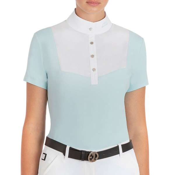 Equiline Turniershirt Eveleene, pastell-blau