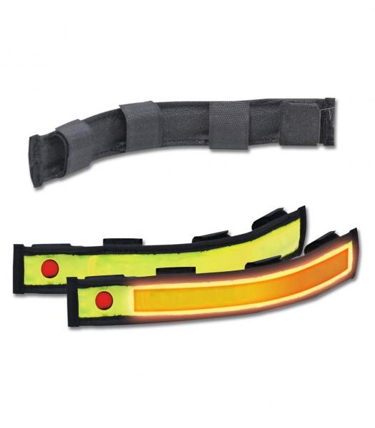 Reflexband mit Blinkfunktion, mit Klettverscluss