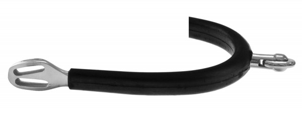 Sporen mit horizontalem Rad