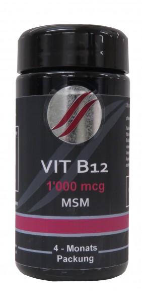Vit B12 + MSM / 60 Kapseln