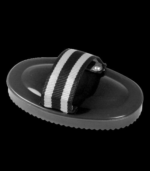 Hartplastik-Striegel, schwarz