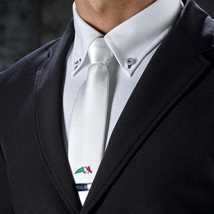 Equiline Krawatte QUICK TIE System - weiss