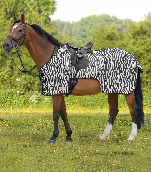 Fliegenausreitdecke Zebra