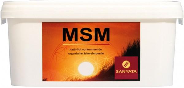 MSM 99.9% - davon 99.6% Schwefel