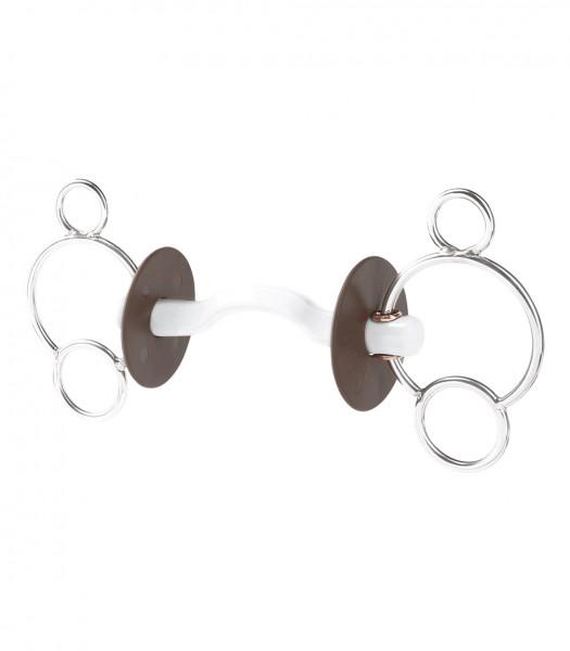 beris 3-Ring Gebiss mit Konnex Zungenbogen